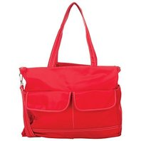 Jolly Jumper 362 Manhattan Diaper Bag, Red