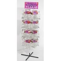 Forum Novelties FRM-67630 Glitter Tiara Rack Display Deal BOX DAMAGE