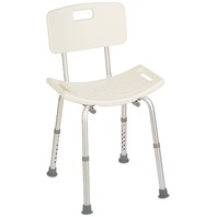 Homecraft Shower Chair w/ Seat, Removable Back & Adjustable Legs BOX DAMAGE