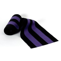 "Independence Bunting & Flag 36"" 5-Stripe Nylon Bunting, Black/Purple"