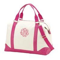 bkb M445-HTPK Pink Sullivan Weekender Bag