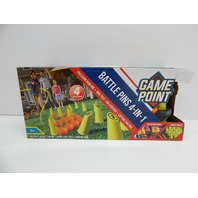 Game Point 647192 Battle Pins 4-in-1, Multicolor