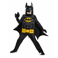 Disguise 23730G Batman Lego Movie Deluxe Costume, Black, Large (10-12 Boys)