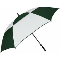 Haas-Jordan 8506 Double Canopy Hurricane 62-Inch Manual Open Golf Umbrella