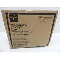 Medline ReadyBath Scented Rinse-Free Shampoo Cap with Conditioner, 30ct BOX DMG