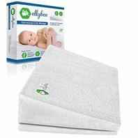 Ellybee Universal Crib Foldable 14-degree Incline Wedge Pillow CUSTOMER RETURN