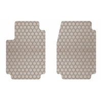 Intro-Tech BM-656F-RT-T Hexomat Front Row Floor Mats for Select BMW 4 Series Tan