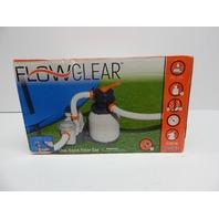 Bestway 58405 Flowclear 1500gal Sand Filter Pump for Pool