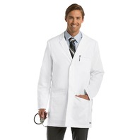 "Barco Grey's Anatomy 0917 35"" Men's Lab Coat, Medium, White DIRTY FROM SHIPPING"