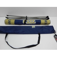 """NCAA Pittsburg Panthers Portable Folding Endzone Table, 31.5 x 20.7 x 19"""""""