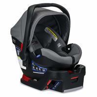 Britax E1C008N B-Safe Ultra Infant Baby Rear Facing Car Safety Seat Gris BOX DMG
