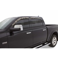 Stampede 6253-9 4pc Window Deflector for 09-10 Dodge Ram Truck, Mossy Oak