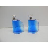 Nautica Blue Eau De Toilette Spray for Men, 3.4 fluid ounce 2 ct NO ORIGINAL BOX