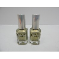Color Club Halo Hues 1097 Fingers Crossed Bright Nail Polish, 2 ct