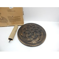 DC America UBP18181-BR 18-Inch Cast Stone Umbrella Base, Bronze BOX DAMAGE