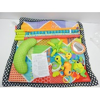 Infantino 206-853 Pond Pals Twist and Fold Activity Gym and Play Mat NO ORIG BOX