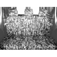 CalTrend Rear 60/40 Split Bench Seat Cover for Select Ford F-150, Urban Camo