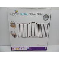 Summer Infant 27270 6' Extra Tall Walk-Thru Metal Expansion Baby Pet Gate BX DMG