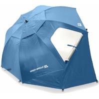 Sport-Brella XL 0736 Vented SPF 50+ Sun & Rain 9' Canopy Umbrella, Blue NEW