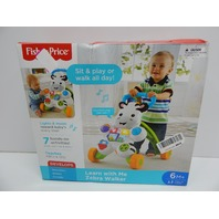 Fisher-Price DKH80 Learn with Me Zebra Walker BOX DAMAGE