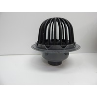 Oatey 78023 PVC Roof Drain with Cast Iron Dome, 3-Inch OPEN BOX