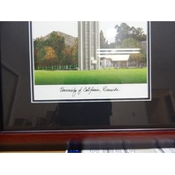 Campus Images CA941A UC Riverside Academic Framed Lithograph