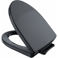 TOTO SS214#51 Soiree SoftClose Elongated Toilet Seat, Ebony BOX DAMAGE