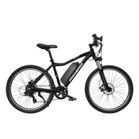 "Micargi MONARCH-BK 26"" 7 Speed Alloy 350W Electric Bike Bicycle, Black"