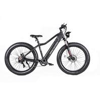 """Micargi STEED-MBK 26"""" 7 Speed 800w Electric Mountain Bike Bicycle, Matte Black"""
