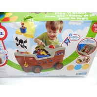 Little Tikes 622113MP 2-in-1 Pirate Ship Ride On MINOR BEND AND DISCOLORATION