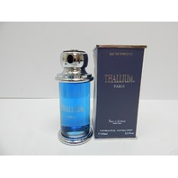Thallium 3.3 Fl. oz. Eau De Toilette Cologne Spray for Men BOX DAMAGE