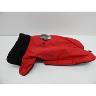 Petmate Wouapy 90070 Raincoat for Dogs, Eco Red, Large 14-16""