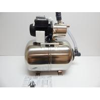 BURCAM 506538SS 3/4 HP Stainless Steel Shallow Well Jet Pump System OPEN BOX