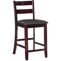 "Linon 01866ESP-01-KD-U Torino Collection Soho 24"" Counter Stool Chair BOX DAMAGE"