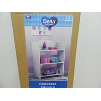 Delta Children FL86760GN-130 MySize Bookshelf, Bianca White BOX DAMAGE