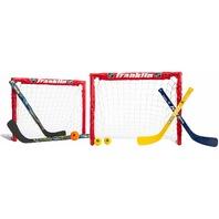 "Franklin Sports 14213 Kids Folding Hockey 2 Goal Set, 24x19x19"" Goals OPEN BOX"