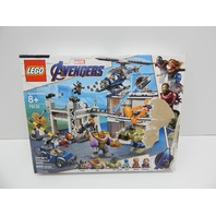 LEGO 76131 Marvel Avengers Compound Battle Building Set BOX DAMAGE
