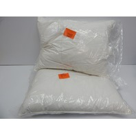 Park Hotel Collection 550 Fill Down Pillows, Cotton Shell, Standard, 2ct