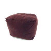 TRENTON Gifts Comfortable Foot Rest, Soft Suede Like Upholstery, Burgundy