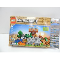 LEGO 21135 Minecraft The Crafting Box 2.0 Building Kit (717 Pieces) BOX DAMAGE