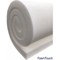 "FoamTouch Upholstery Foam Cushion Medium Density, 2"" L x 24"" W x 72"" H"