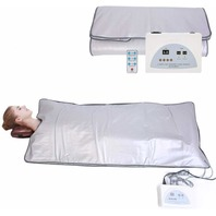 TOUKUN Digital Far-Infrared (Fir) Heat Sauna Blanket 2 Zone Controller BOX DMG
