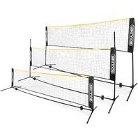 Boulder Portable Badminton Pickle Ball Tennis Volleyball 17' Net, Yellow BOX DMG