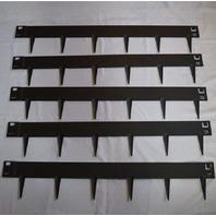 "EverEdge Steel Lawn Edging, 3"", Black 16.25' total BOX DAMAGE"
