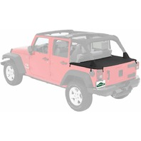Pavement Ends by Bestop 4182935 Black Diamond Cargo Cover for 07-18 Wrangler