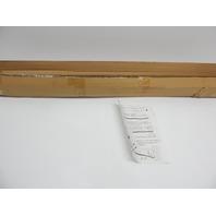 """Generic HK343 83-122"""" Telescopic  Wall Closet Curtain Rod, Black BOX DAMAGE"""
