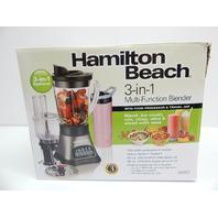 Hamilton Beach 58163 Wave Crusher 3 in 1 Blender System BOX DAMAGE