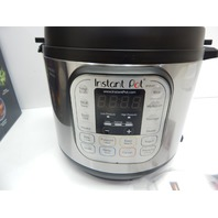 Instant Pot IP-DUO60 Duo 7-in-1 6 Qt Electric Pressure Cooker, 6-QT SHIPPING DMG