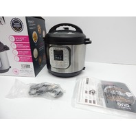 Instant Pot IP-DUO60 Duo 7-in-1 6 Qt Electric Pressure Cooker, 6-QT SHIPPING DMG