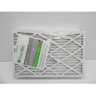 FilterBuy 16x24x1 MERV 8 Silver Pleated AC Furnace Air Filter, 6ct BENT